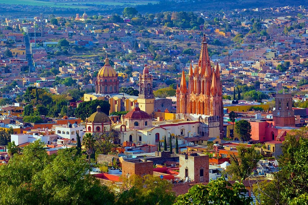 San Miguel De Allende, Mexico, where I want to spend a month or two in year 2. By http://www.flickr.com/photos/jiuguangw/