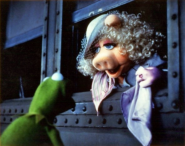 Pretty sure I won't be as together as Miss Piggy when I board my plane to London.