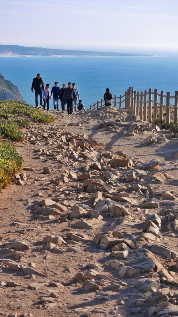 Scared of heights, walking down this train at Cabo da Roca to sit on a rock above the towering cliff, that was a big deal for me. I spent three hours here having on of the most profound days of self-reflection in my life.