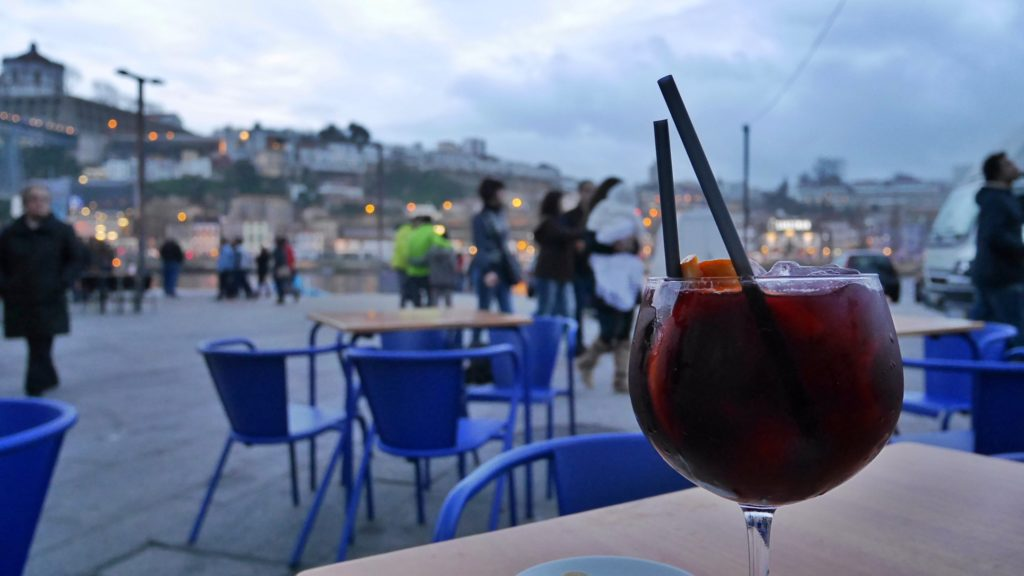 This looks like sangria to you, but to me it was a beverage I chose well after a day of walking more than 8km doing photography in the Old Town of Porto, Portugal. My feet were killing me but I felt such gratitude.