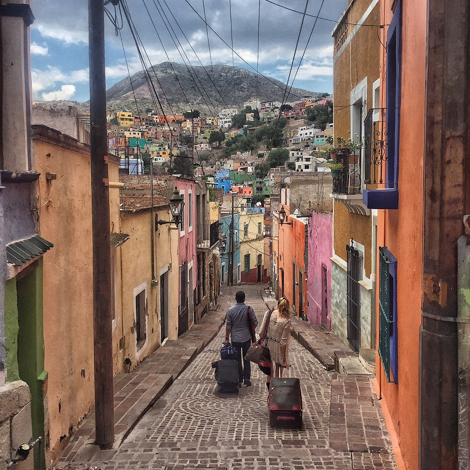 Guanajuato was my favourite city in Mexico. It was more easy-going than any I've visited, and the alleyways and hills remind me of Europe. Nomad life means having to experience places before you can understand them.