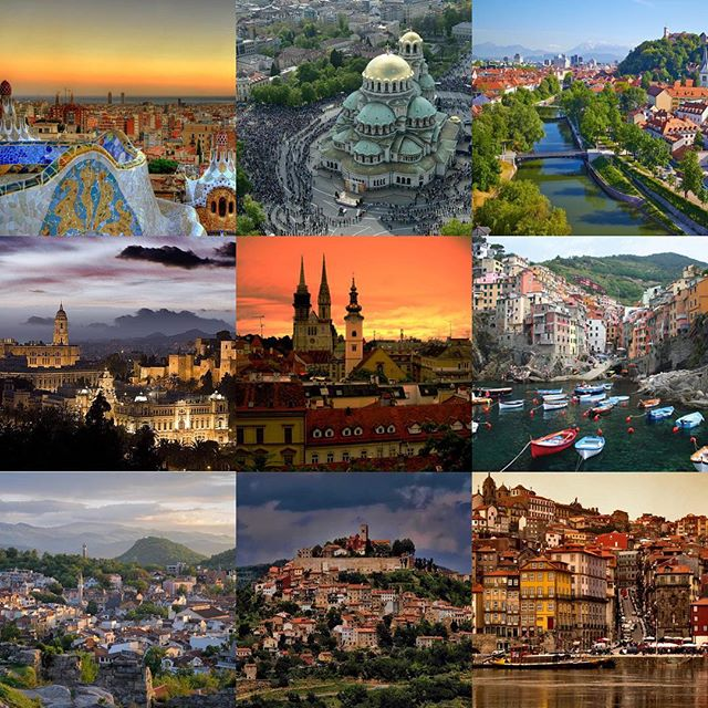 Cities I will be staying in. (Tentatively; between now and spring.)