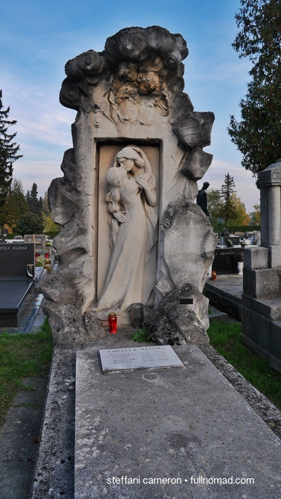 "I loved this tombstone in the amazing Mirogoj cemetery. ""Sprawling grounds"" is an understatement."