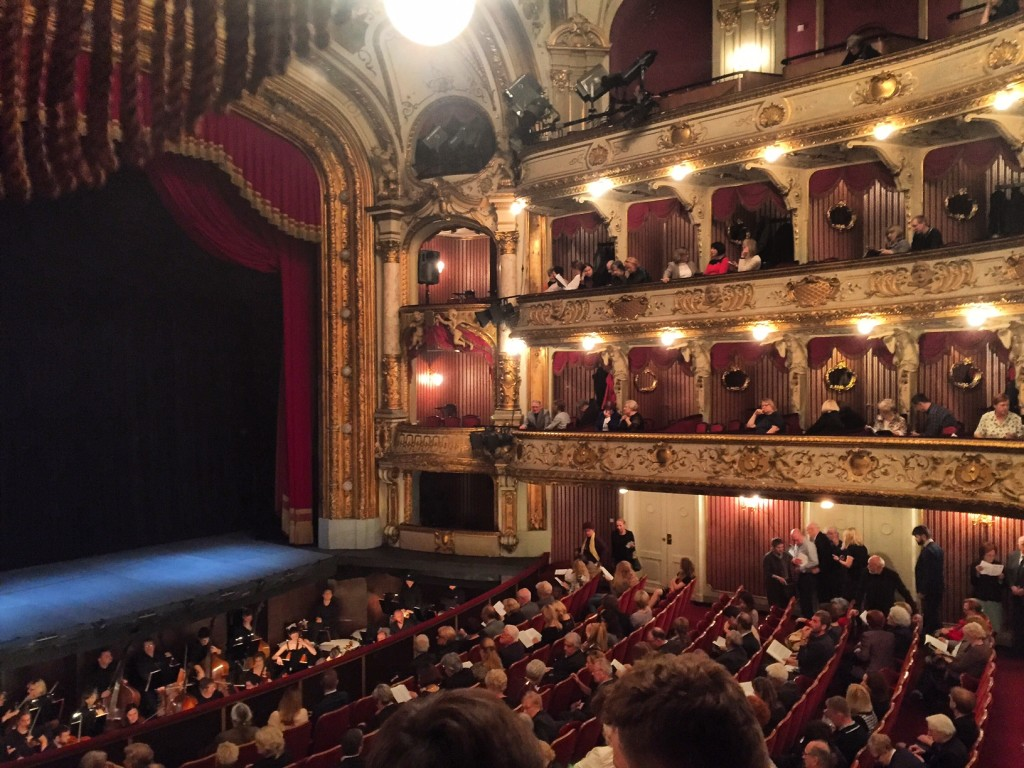 Opera at the Croatian National Theatre! A beautiful Baroque theatre built in 1895.