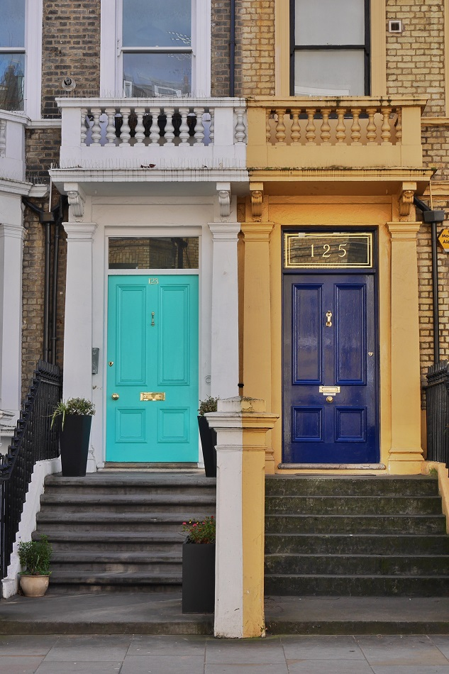 If you do not walk around residential England and admire doors, yer doing it wrong.