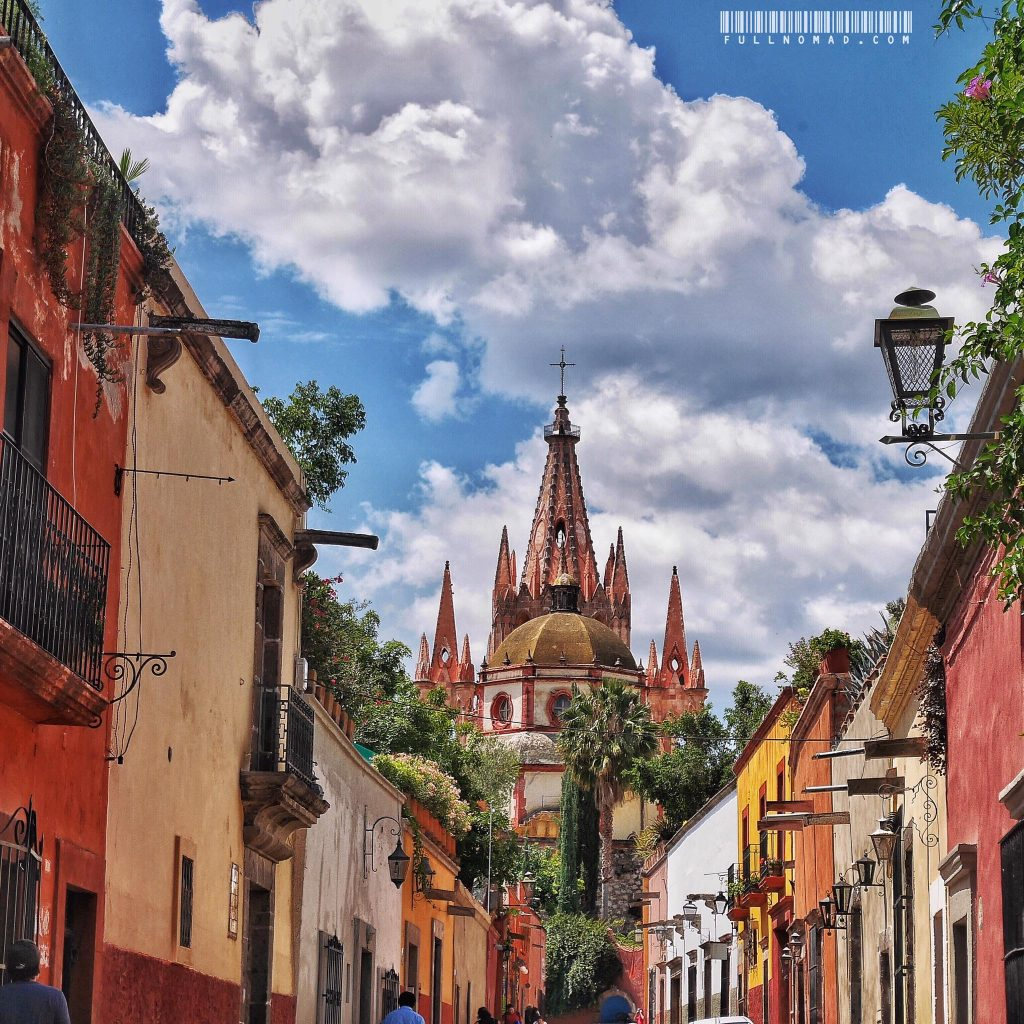 And this is San Miguel de Allende. It's certainly a pretty city.