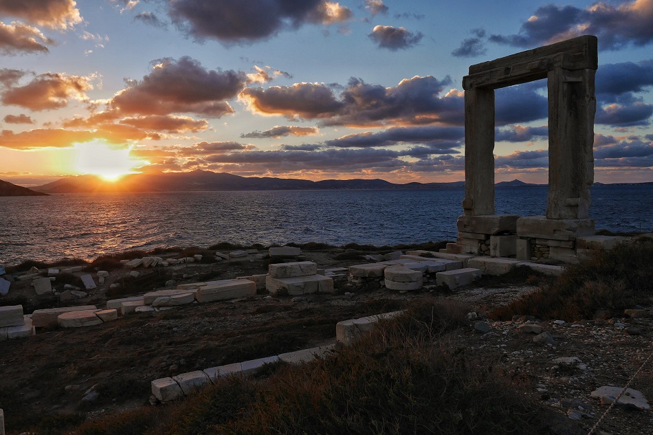 Portara, Naxos, the gate to the unfinished, then abandoned, temple dating back 2,500 years. That's 500 generations who have walked around this ruin, absorbing the setting sun from this very spot. Why I travel is because we should, because we can, because it may not be here tomorrow.